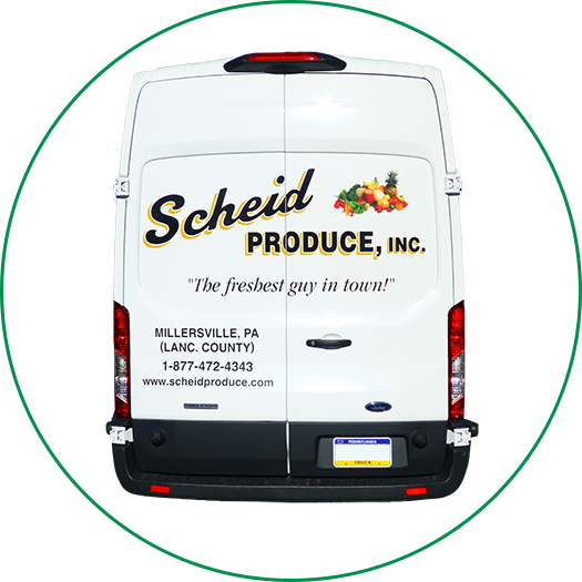 Scheid Van Ready for Delivery